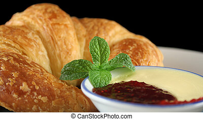 Croissant With Jam 4