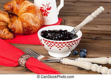 Croissants for breakfast