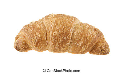 croissants isolated on white background