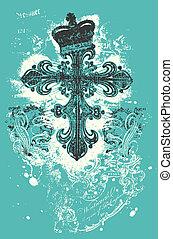 croix, illustration