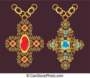 croix, or