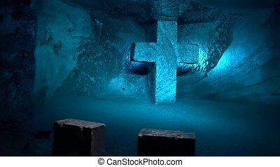 croix, statues, chrétien, religion