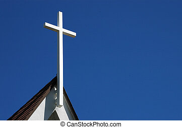 croix, texte, paques, espace