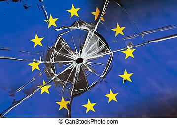 crollo, unione, europeo