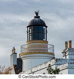 Cromarty Lighthouse on the Black Isle