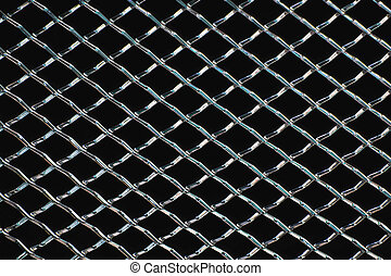 cromo, grille