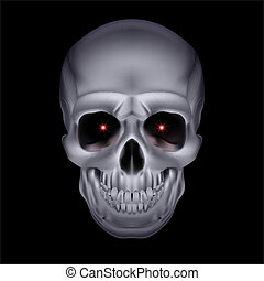 cromo, místico, skull.