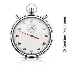 cronómetro, realista