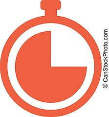 cronômetro, 10, vetorial, eps, ícone