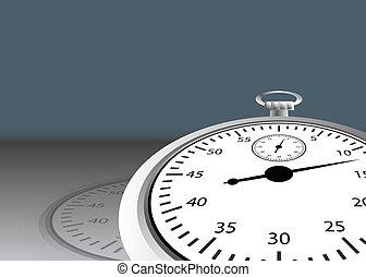 cronômetro, angled