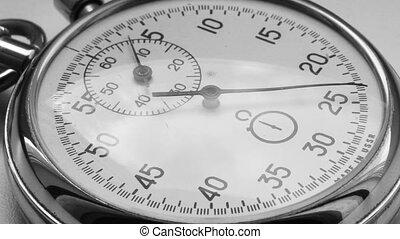 cronômetro, conta, timelapse, -, tempo