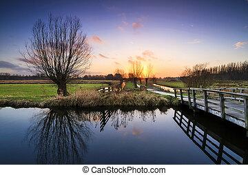 Cronesteyn park sunset