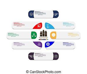 cronologia, affari, infographics