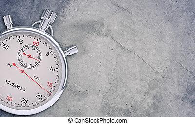 cronometro, grigio