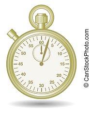 cronometro, oro