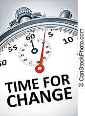 cronometro, testo, cambiamento, tempo
