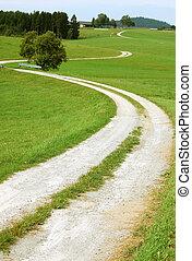 Crooked Rural Road