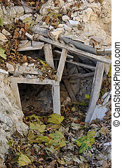 crooked underpin rubble