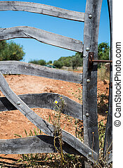 Crooked Wooden Gate (2)