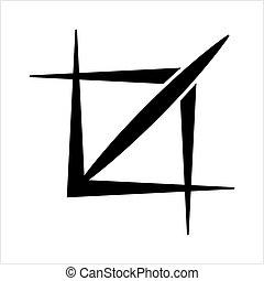 Crop Icon, Design