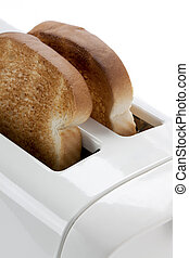 cropped image of a toaster