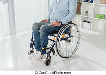 disabled man