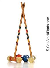 Croquet Game Equipment