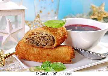 croquettes and red borscht for christmas eve - croquettes ...