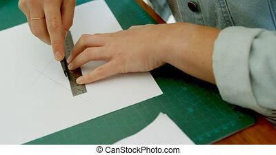 croquis, bijouterie, dessin, papier, blanc, concepteur, 4k