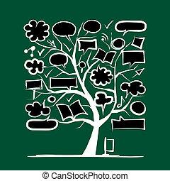 Mod le croquis ext rieur arbre conception croquis - Croquis arbre ...