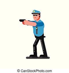 croquis, gendarme