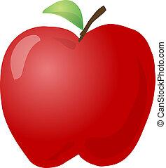 croquis, pomme