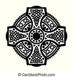 cross., ケルト, 国民