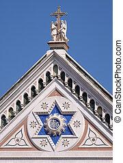 cross), フィレンツェ, croce, franciscan, イタリア, santa, 有名, (...