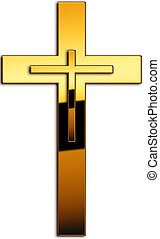 Cross - A cross as symbol
