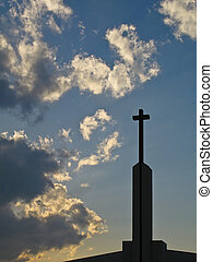 Cross Against Sky