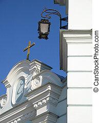 Cross and light