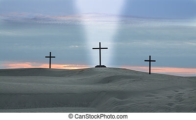 Cross Beam Of Light