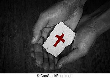 Cross Block In Hands