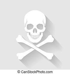 cross-bones, cráneo