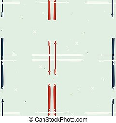 Cross-country ski background