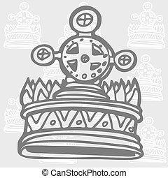 Cross Crown