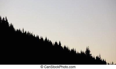 Mt. Hood - Cross fade between two shots of Mt. Hood, Oregon...