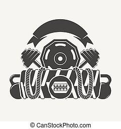 Cross Fitness objects logo