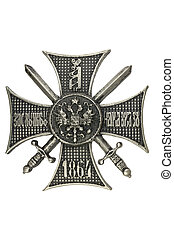 """Cross """"For Service in the Caucasus."""""""