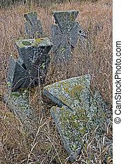 Cross in the cemetery XVIII-XIX centuries