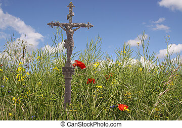 CROSS IN THE FIELD