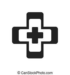 cross medical health symbol