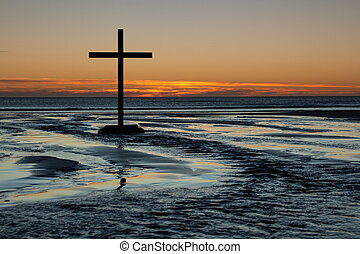 Cross Of Flowing Waters