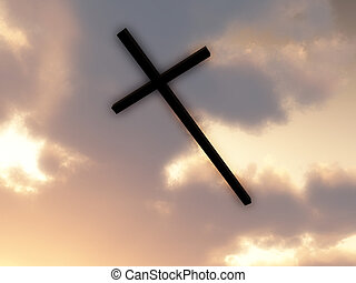 Cross Of Jesus In The Sky 2
